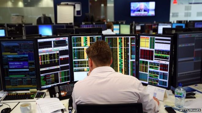 Bumper sets of company reports buoy FTSE 100 in London midday trading