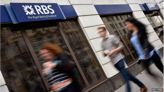 U.K. Government may begin Sale of Stake in RBS from Monday