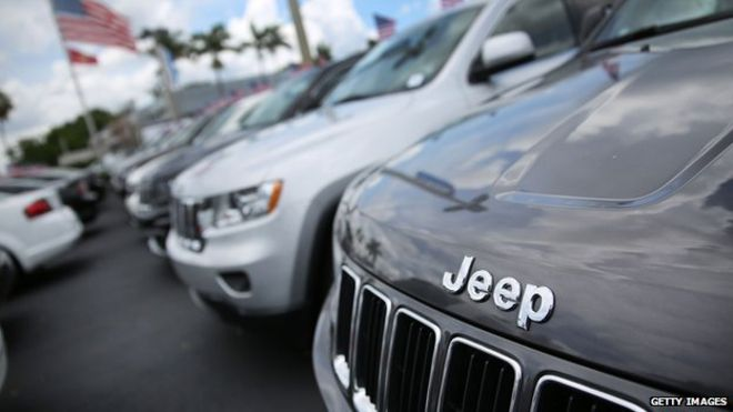 Record recalls to cost Fiat Chrysler $105m in fines in US