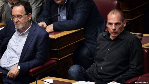 Giant Step forward as Greek MPs pass crucial bailout reforms