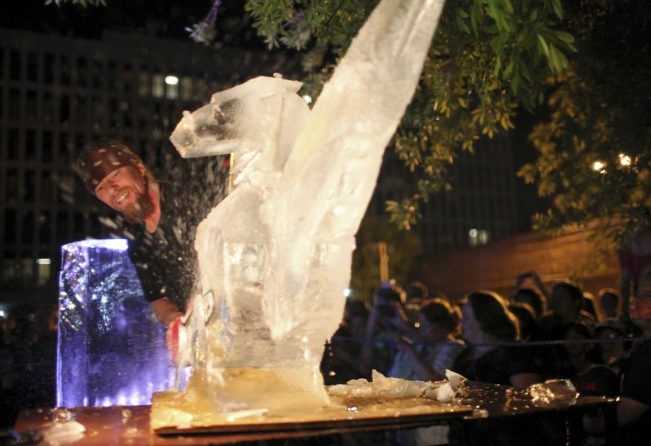 A conversation with ice carver Burr Rasmussen of RK Group