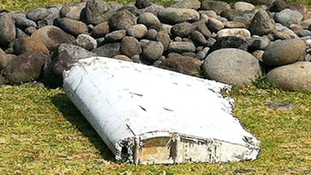 MH370 search: 'Second plane part' found on Reunion Following first find on Wednesday