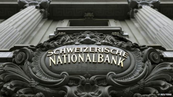 Swiss central bank takes a 50bn Swiss franc Hit amid soaring value of currency