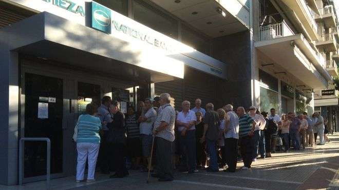 Banks reopen amid tax rise in Greek Debt Crisis